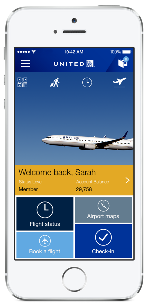 United Airlines Introduces New Iphone App Chicago