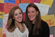 Alison Wittich, left, and Kristy Regan of Sapient Government Services.