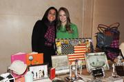 2013 WWMB Awards Ceremony Gina Frattali Sherman and Erika Holt of Tiny Jewel Box display their products at the 2013 WWMB reception at the Four Seasons Hotel in Georgetown.
