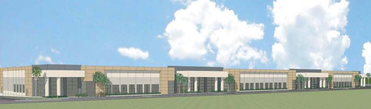 Rendering of Horizon Commerce Park in south Orlando.