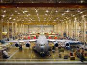 Californians are hoping that Boeing 777X aircraft can replace C-17s in Long Beach, although fitting the former's wide wings could be a challenge in the plant's relatively narrow bays.