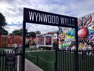 Wynwood Walls, near the site of the Maker Faire. The event also highlighted Wynwood's neighborhood and cultural scene.