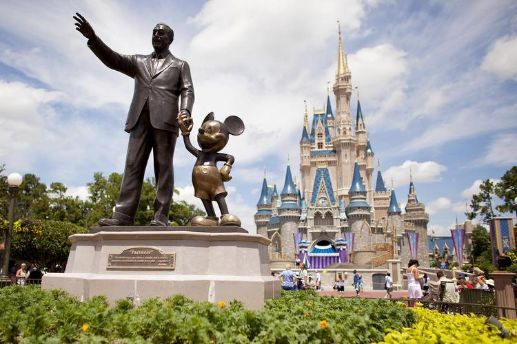 The Walt Disney Co. reported strong 2014 revenue for its theme park business.