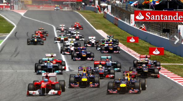 Santander Consumer USA Holdings Inc. hopes to raise $1.56 billion in an initial public offering. The Dallas-based consumer finance company, a subsidiary of Spain's biggest bank, Banco Santander SA, is part of the global Santander financial empire that is a major Formula 1 racing sponsor.