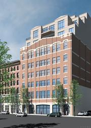 A $20 million renovation and conversion to the Forecaster building at 121-127 Portland St. in Boston's Bulfinch Triangle will include 80 condominiums and retail space.