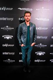 Reality TV star Scott Disick at the Amber Lounge during the U.S. Grand Prix in Austin.