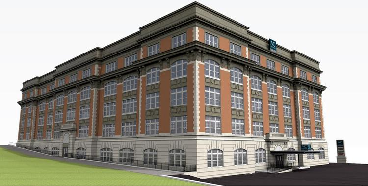 The AC Hotel by Marriott Cincinnati Downtown, the new hotel planned for the former School for Creative and Performing Arts in Pendleton, will be among the first hotels to be developed as part of the brand's expansion into North America.