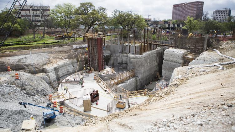 The fee is used to fund a number of flood, drainage and storm water projects, including the construction of the Waller Creek tunnel and the purchase of homes in the Onion Creek floodplain.