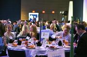"Attendees pack the ballroom at the Charlotte Convention Center for lunch. Pictured is the Jackrabbit Technologies table.Using the case-sensitive password ""CBJ,"" event attendees and award winners may download their photos here. Email nancy@nancypiercephoto.com with questions on that process."