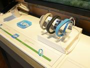 Up wristbands by Jawbone on display in the store