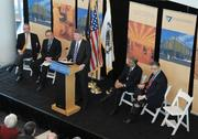 "February 2010: One of foremost builders of semiconductor plants in the world will move its North American headquarters to the Watervliet Arsenal. It is more evidence of the Capital Region's growing prominence in the technology industry. Rick Whitney, CEO of M+W US Inc., said the upstate region is ""a world leader in nanotechnology education, innovation and commercialization."" M+W will invest $228 million to move its headquarters to the arsenal from Dallas, the company's home base since 1998."