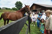 2003: The buzz in horse racing is Sackatoga Stable, best known as the owner of Funny Cide, the gelding that took two stages of the Triple Crown, winning the Kentucky Derby and Preakness. Many of the partners in the stable are also investors in the horse-buying syndicate. Funny Cide, pictured, made a return visit to the region in August from his retirement farm in Kentucky.
