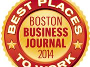 2014 Boston Business Journal Best Places to Work