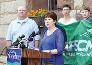 A look at 2013: Kathy Sheehan For the first time in 20 years, Albany will be led by a mayor not named Jerry Jennings. Kathy Sheehan, the city treasurer and a former corporate attorney, collected more than 83 percent of the vote in the November election after Jennings decided not to run again. Sheehan had financial support from some of the biggest names in the business community.