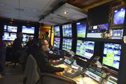 ESPN prepares for its Monday Night Football coverage from Charlotte.
