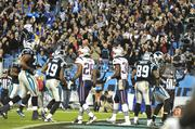 The Panthers went on to defeat the New England Patriots 24-20.