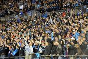 Bank of America Stadium is packed for Monday Night Football.