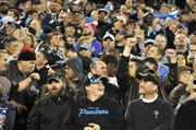 Carolina Panthers fans are excited to finally be in the midst of a winning season.