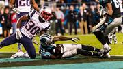 Carolina Panthers wide receiver Brandon LaFell crosses the goal line for a touchdown.