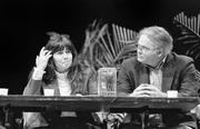 1986 – Anne Rice, left, and Pat Conroy