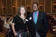 Chrstine Smalley with Jarret Strickland, both of Jackson National Life Insurance.