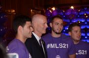 Among the elected officials on hand for Orlando City Soccer's announcement: Florida Gov. Rick Scott