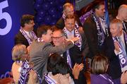 And there it is! Orlando City Soccer President Phil Rawlins has a lot to smile about now.
