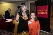 An attendee (and Cleopatra) at the Women of Distinction event held at the Sheraton Downtown Philadelphia Hotel on Tuesday Nov. 19.