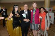 Attendees (and Cleopatra) at the Women of Distinction event held at the Sheraton Downtown Philadelphia Hotel on Tuesday Nov. 19.