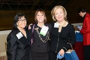 L to R: Candace Roberts, Quantum Think, Michele Schina, President, NAWBO and Sara Canuso, A Suitable Solution.