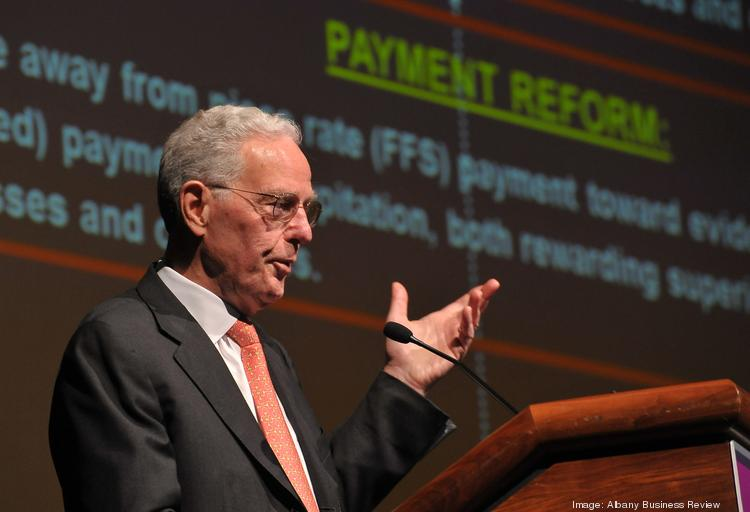 """Princeton economist Uwe Reinhardt says the new health exchange has worked in New York. He grades it an A-minus. As for the federal government's exchange, he gives that an F, """"only because there is no F-minus."""""""