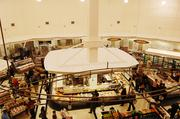 A view from the second floor of the new Myers Park Harris Teeter.
