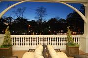 A view from the outdoor patio at the Myers Park Harris Teeter.