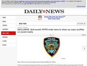 A screenshot of the Google cache showing the Daily News' story.
