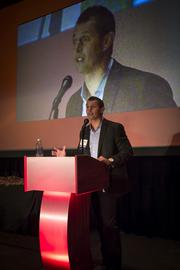 During his acceptance speech, FastMed Urgent Care CEO Jason Williams talked about how he almost missed the program.