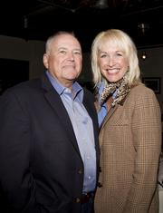 Attending Saturday's WEAVE fundraiser were Tim Ray, regional vice president for external Affairs at AT&T Inc., and his wife Colleen Mains-Ray, director of business development at Vellutini Corp., dba Royal Electric Co.