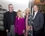 Attending Saturday's WEAVE fundraiser were Scott Wolcott with Wade Associates; Carmah Hatch with Dunnigan Realtors; Lisa Ryan with Stewart Title of Sacramento; and James Day with Coldwell Banker, Sierra Oaks.