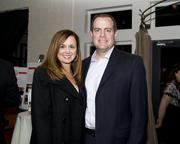 Attending Saturday's WEAVE fundraiser were Kevin Barri, a senior vice president with Wells Fargo, with wife Rachelle.