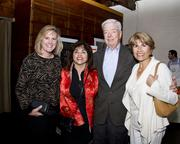 Attending Saturday's WEAVE fundraiser were Lynnea Olsen, a senior vice president with Citigroup; Kathy Khan an HR manager with the California Student Aid Commission; George Steffes with Capitol Partners and Jamie Khan of The Apex Group.