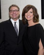 """Attending Saturday's WEAVE fundraiser were Marianne McClary, co-host of """"Good Day Sacramento"""" and emcee of the event, with husband Scott Goebl, a senior manager with the Sacramento office of North State Resources."""