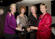Attending Saturday's WEAVE fundraiser were Anna Sierra, owner of Dovetail Marketing; Amy Dobbeteen, of Government Contracts; Bryn DeVine of Courtyard Dental Group; and Wendy Phoenix, manager of the law office of David Asch.