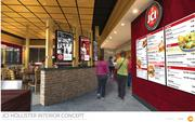 The new menus will be digital and at eye level, not up high like in many fast food restaurants. President Darrin Straughan likened the ordering system to that of casual Asian restaurant Pei Wei.