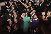 40 Under 40 award winners cheered each other on.