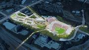 The Atlanta Braves' proposed $672 million stadium complex in Cobb County.