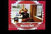 Marcus Hall chugged a 40-ounce bottle (of his children's apple juice) in his video.