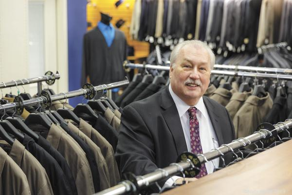 Downtown Shopping: Edd Wimsatt is owner of Price Stores in downtown Dayton.
