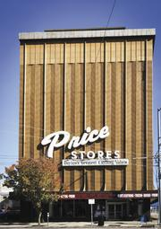 Good Signs: Pockets of downtown are showing retail vibrancy. Price Stores, a clothing retailer, has remained one of the staples of downtown shopping.