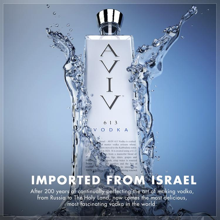 AVIV 613 is a new vodka that is imported by a Minnesota company from Israel.