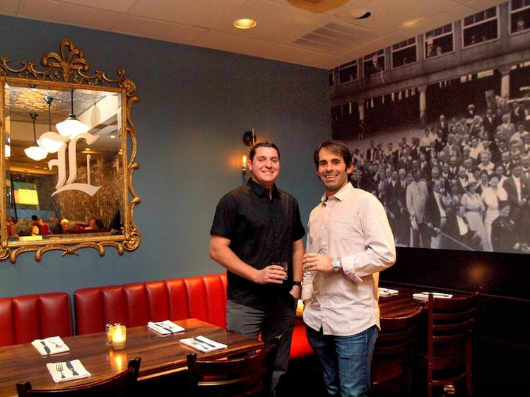 Tony Ciola, left, and Creed Ford IV will open their second League Kitchen & Tavern Nov. 25 at the Shops at Avery Ranch.