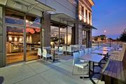 The cosmopolitan vibe at Tony C's is enhanced by outdoor seating.